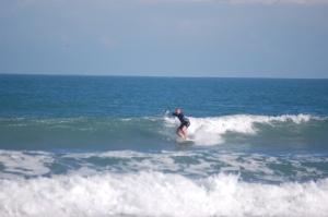 Fun waist high swell on 12/10/10, at Hangers, taken by a friend.