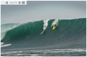 Quiksilver Ceremonial Punta de Lobos 2011contest, from magicseaweed.com, the first contest on the big wave tour event.