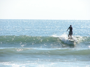 A nice left cruiser, Image 1 of 2 sequence, John on a nice waist high left, first day of TS Maria at the Cape, September 13 2011 , photo by Art