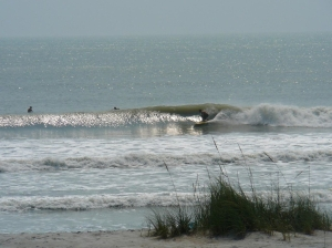 It did turn into some coverage.  Mike Melito photographer.  Hurricane Irene, glassy day two. Saturday