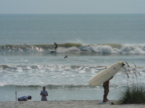Hard to tell if it would be a good longboard day ;)  Photos by Mike Melito.