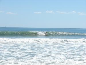 Nice shoulder high left,  Image 1 of 3 sequence,  Johnson Ave - Hurricane Ophelia- Sunday Oct 2 2011, photo by oldwaverider