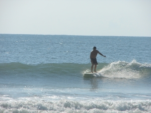 Continuing to enjoy all the real estate a longboard has to offer :) Image 2 of 3