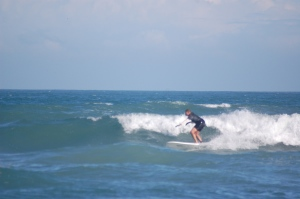 A solo day at Hangars with some thigh to rib high sets.  Image 1 of 9 in sequence.  Photos by Jeremy Dugan