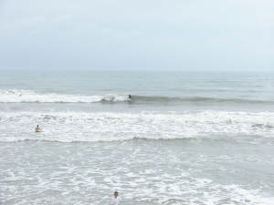 Image 6 of 7 shot sequence.  Same long left for this surfer.