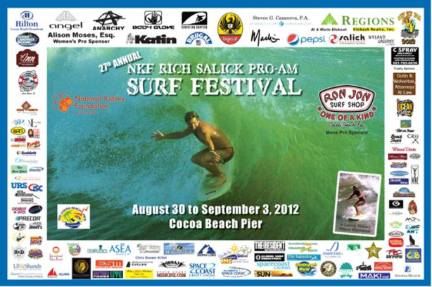 26th Annual NKF Pro AM Surf Festival Labor Day weekend website