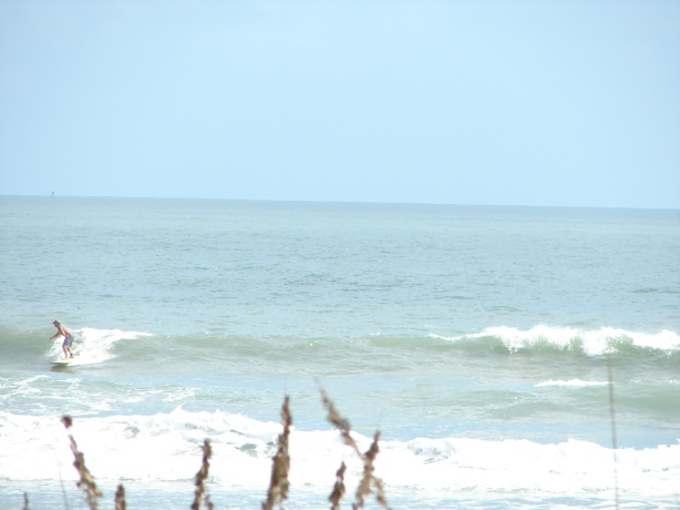 Okay, back to a waist high wave now :)  Image 7 of 7, Chuck closing the deal.