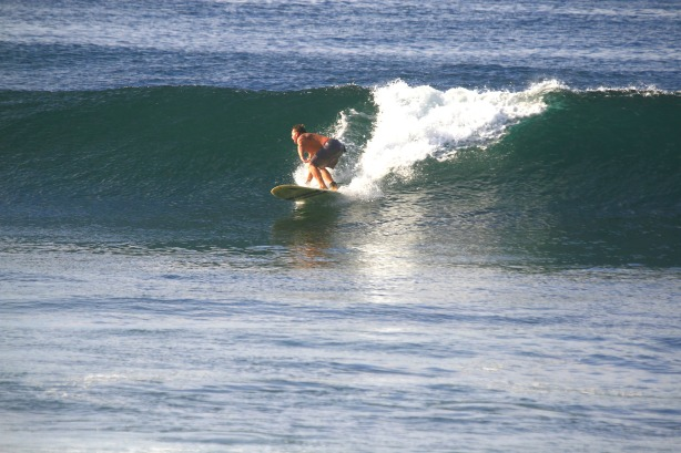 Chuck, on a sweet bomb in Nicaragua, back in 2012.