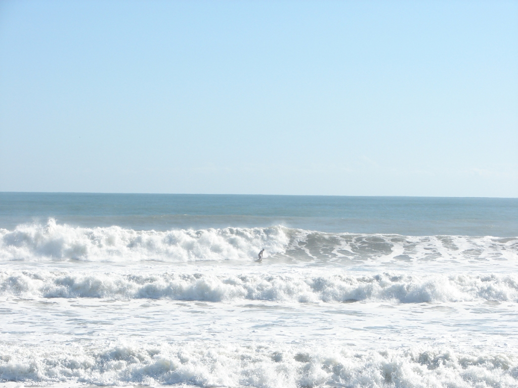 1 of 3 shot sequence, shot Nov 10 2011, Satellite Beach, NE swell, 6.5 feet at 11 seconds, photo by Art Hansen