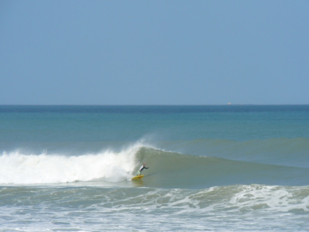 Photos by Mike Melito, a 3 foot at 12 second period swell, the one coming Friday is 2.5 feet at 12 seconds, so I like to show this for optimism that it could be big :) sept 2012 hurricane 032
