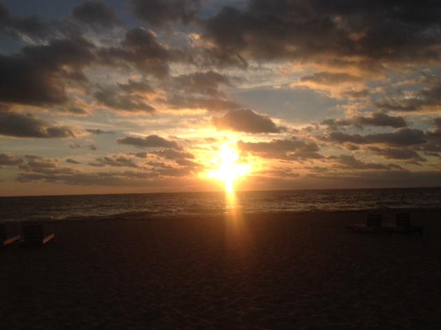 Cross-Sunrise